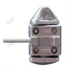 供应集装箱绑扎件集装箱中间扭锁 上下固定锁装置批发