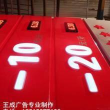 供应阿克苏专业生产加油站立柱灯箱批发