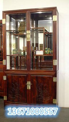 红木中式酒柜红木实木酒柜图片大全图片