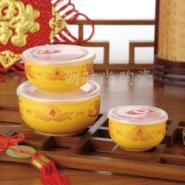 陶瓷碗韩式保鲜碗3件套图片