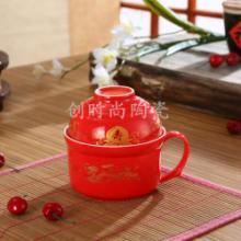 供应陶瓷碗汤面盖碗
