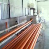 供应65油井复合管拉拨缩颈挤出机设备