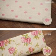 棉麻布料图片