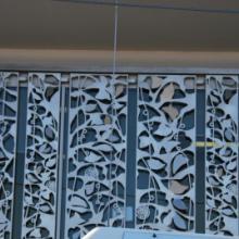 供应铝合金镂空板/阳台护栏/庭院护栏/遮阳百叶/庭院门批发