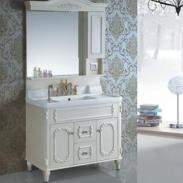 pvc微晶石人造盆浴室柜组合柜简欧图片图片