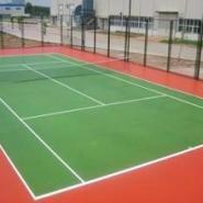 云南硅PU球场材料图片