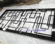 供应佛山彩色不锈钢屏风价格 新款不锈钢屏风加工订做图片