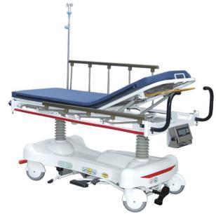 带称重系统液压多功能升降转运床图片