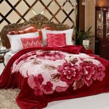 供应超柔双层拉舍尔毛毯绒毯库存特价处理,长期收购出售毛毯库存批发