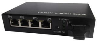 博科光纤交换机:优质的4路网络视4路网络视频光端机