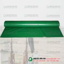 供应用于服装印花台皮_台皮生产厂_PVC涂塑布绿色台皮ML2X3-1批发