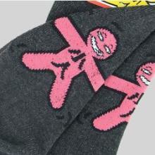 供应台湾袜子踩小人休闲短袜