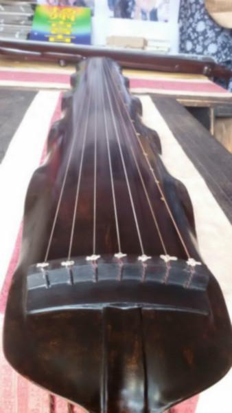 供应扬州欧阳南亲斫蕉叶古琴45万收藏古琴极品古琴