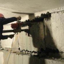旧楼改造切割拆除,混凝土墙体切割开门, 混凝土墙体切割开门绳锯切割