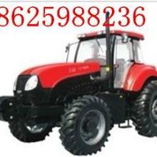 供应120马力四轮驱动大型轮式拖拉机东方红YTO-X1204配套8吨自卸抓木拖车批发