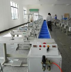 供应服装加工流水线气动推框流水线