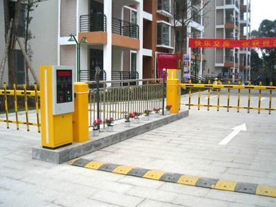 停车场收费设备图片