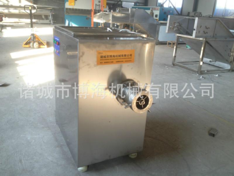 供应大型肉块绞肉机 不锈钢颗粒肉绞肉机 肉制品必备机械