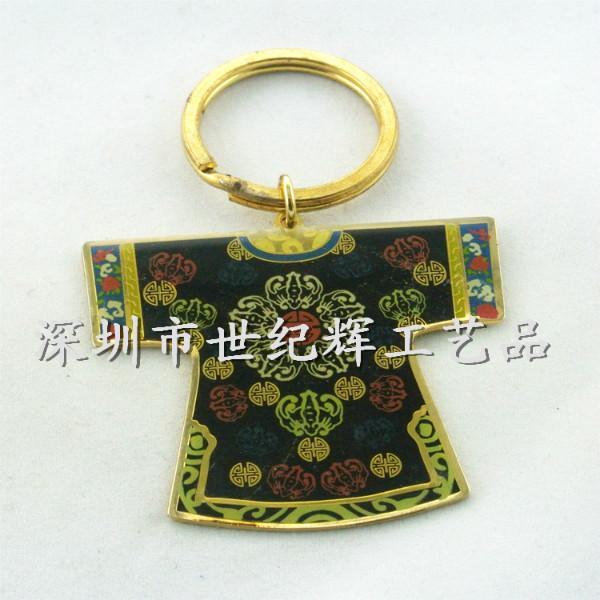 供应北京唐装金属钥匙扣厂家