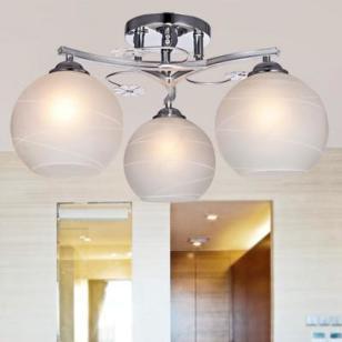 现代简约LED节能灯创意客厅灯图片