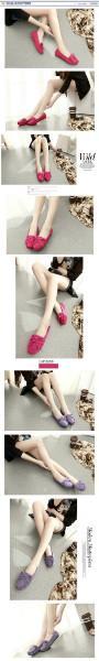 供应2015春秋韩版女鞋(平跟孕妇豆豆鞋)