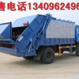 供应3吨密封式垃圾车_青岛4-6立方密封自卸式垃圾车