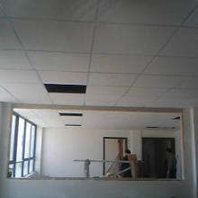 供应用于装修装潢的金山厂房矿棉板吊顶隔墙,金山工业区厂房办公室隔墙,吸音板隔断吊顶批发
