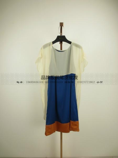 供应七色麻广州服装尾货批发品牌走份广州品牌折扣女装