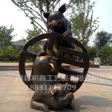供应十二生肖猪铸铜雕塑,铸铜羊雕塑,铸铜十二兽首   吉林铜雕公司批发