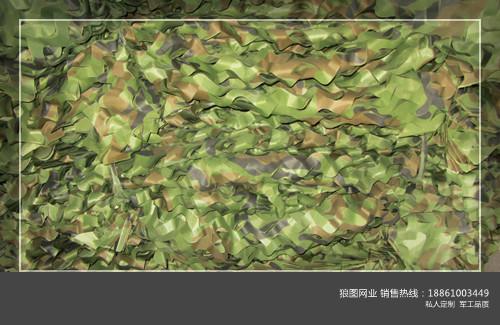 供应丛林迷彩伪装网 防航拍图片