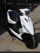 改装版125CC鬼火踏板车RSZ摩托车图片