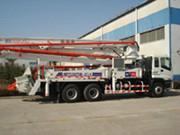 供应天津24米泵车销售,用户可到我处更换底盘部分或有底盘到我处安装泵送