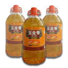 供应玉金香压榨一级花生油 山东浓香花生油 优质食用油批发团购