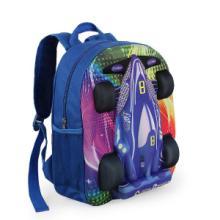 供应新潮可爱3D汽车书包儿童双肩背包新新潮款可爱批发
