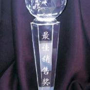 西安水晶奖杯定做水晶礼品工艺品图片