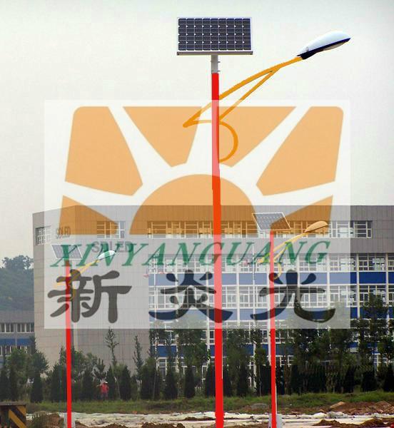 藏式太阳能路灯成都生产厂家图片