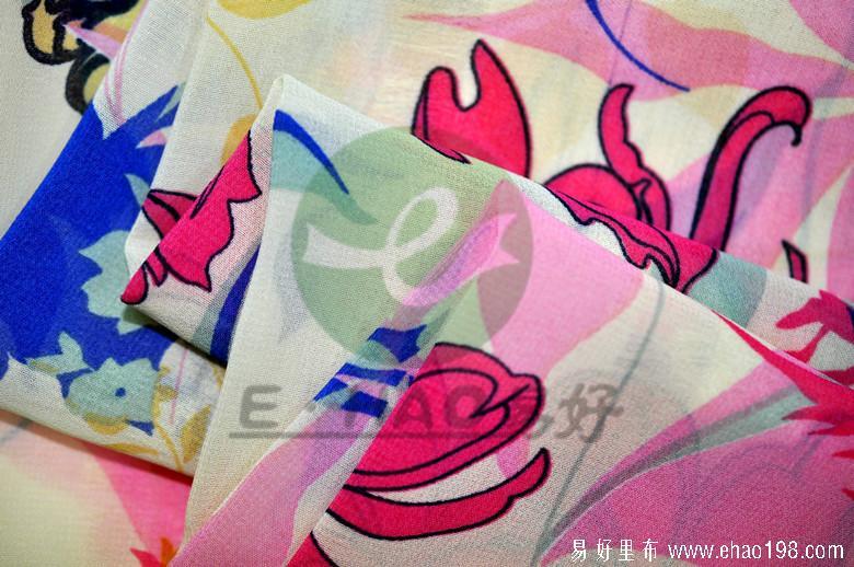 100D雪纺印花图片/100D雪纺印花样板图 (3)