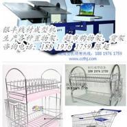 线材成型机生产超市购物车图片