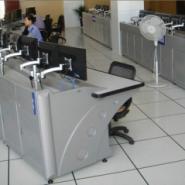 监控室操作台监控台订制图片