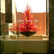馨诺玻璃艺术供应别墅家居艺术灯图片