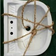 陶瓷托架盆图片
