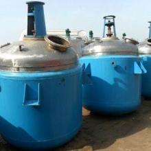 二手不锈钢反应销售二手搪瓷反应釜回收  二手搪瓷反应设备图片