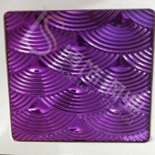 供应新郑201不锈钢紫色压花板 卫浴201不锈钢紫色压花板生产厂家 餐具201不锈钢紫色压花板图片