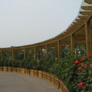 四川柳桉木花架图片图片