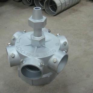 玻璃钢冷却塔铝合金布水器图片