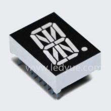 供应0.8英寸一位米字数码管led蓝光仪器仪表电梯字母符号数字显示图片