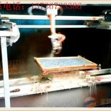 供应纽扣自动喷漆机往复式自动喷漆机箱包配件自动喷漆机图片