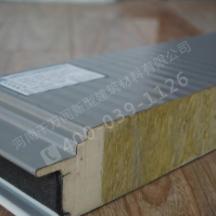 供应用于钢结构厂房的广州聚氨酯封边岩棉夹芯板厂家报价