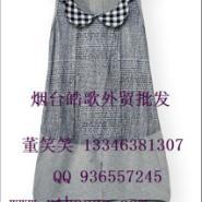 广州十三行韩版棉麻大码女装批发图片