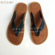 供应棕丝鞋批发 厂家直销男士棕丝鞋 男士人字拖 旅游区鞋子批发